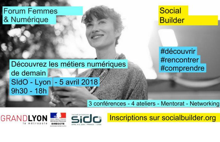 Forum Femmes & Numérique / SIdO 2018
