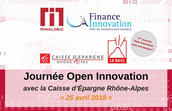 Minalogic Journée Open Innovation avec la Caisse d'Epargne Rhône Alpes