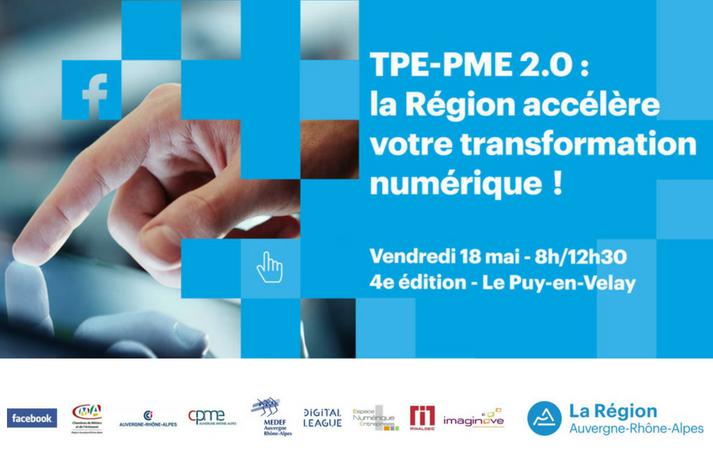 TPE-PME 2.0 : la Région accélère votre transformation numérique ! Le Puy en Velay