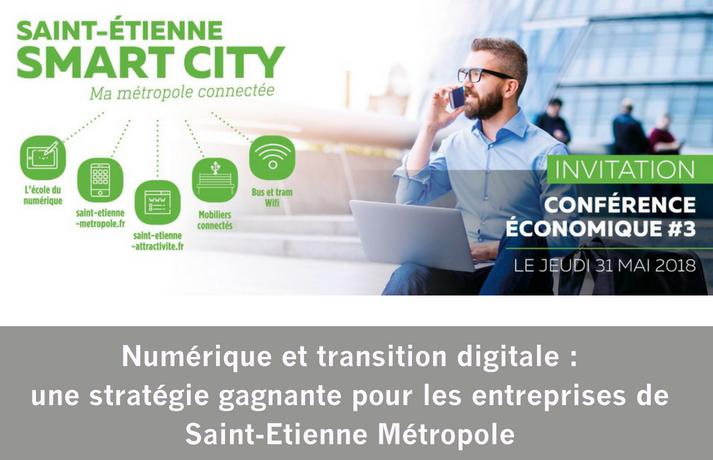 Conférence économique du territoire de Saint-Etienne Métropole