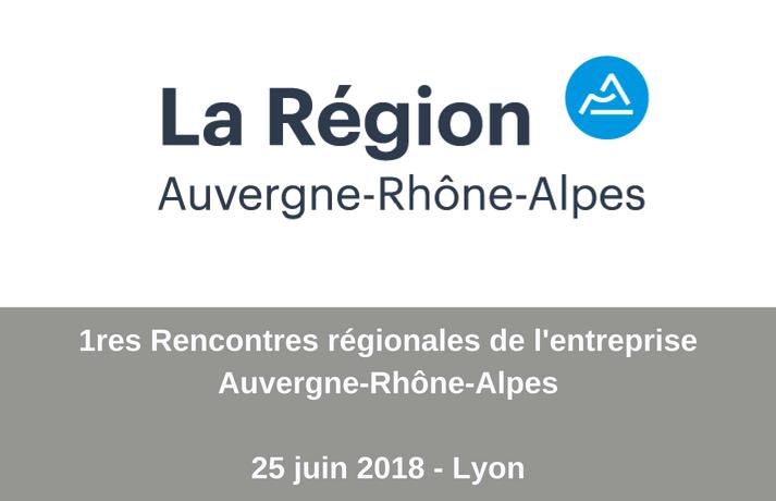 Business Summit : 1ères Rencontres régionales de l'entreprise Auvergne-Rhône-Alpes