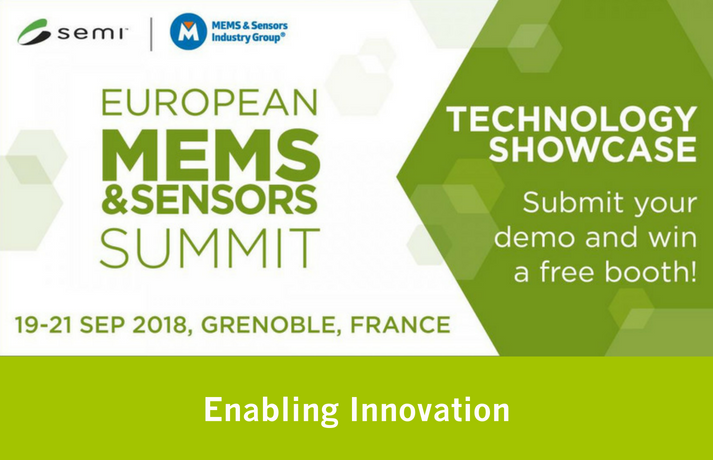 SEMI European MEMS and Sensors Summit 2018