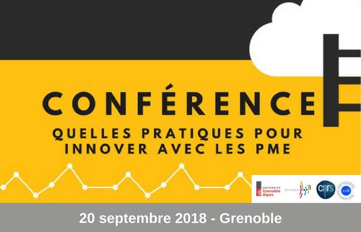 """Conférence """"Quelles pratiques pour innover avec les PME"""""""