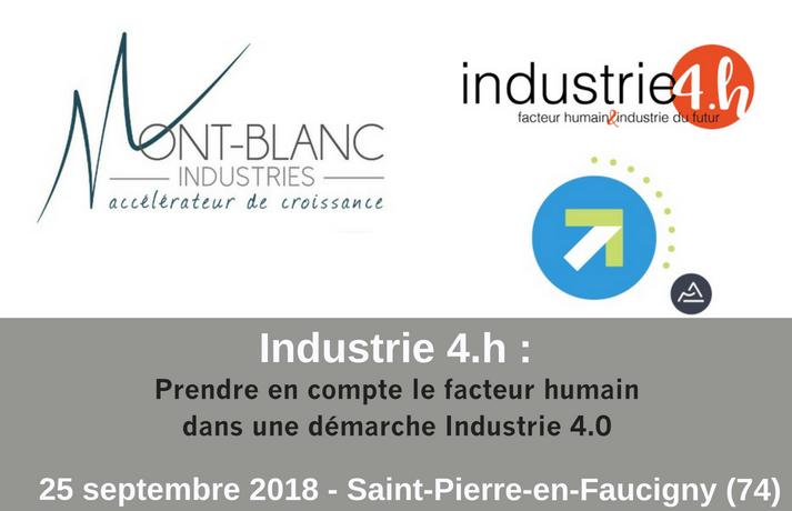 Industrie 4.h, Prendre en compte le facteur humain dans une démarche Industrie 4.0