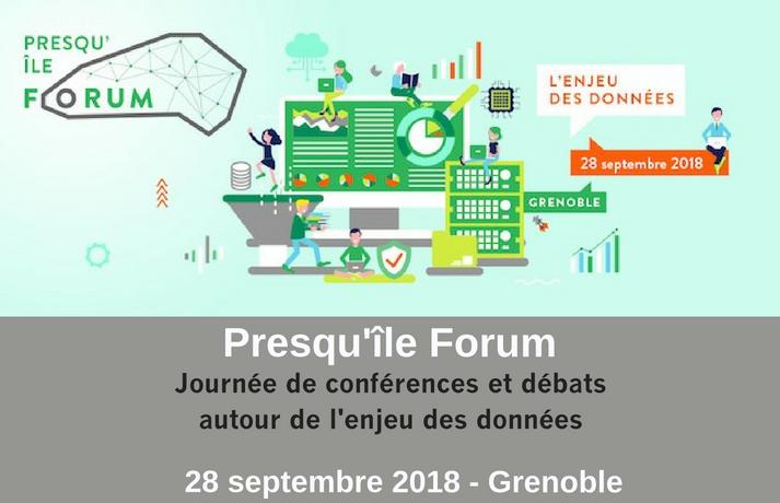 Presqu'île Forum Grenoble