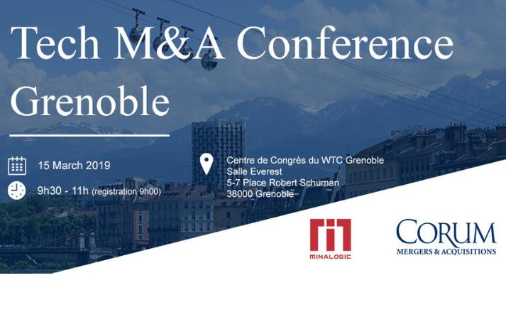 Conférence Tech M&A Grenoble