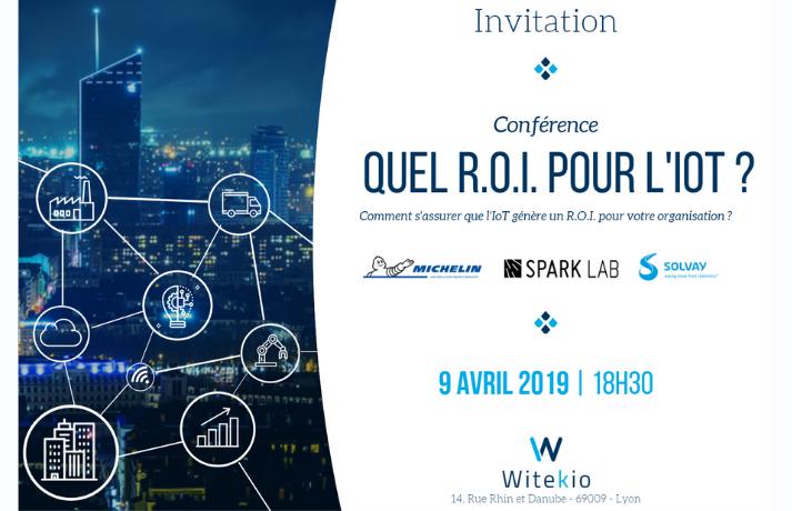 Conférence : Quel R.O.I. pour l'IoT ?