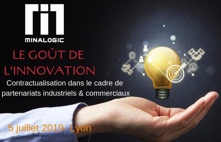 Goût de l'innovation - Contractualisation dans le cadre de partenariats industriels & commerciaux