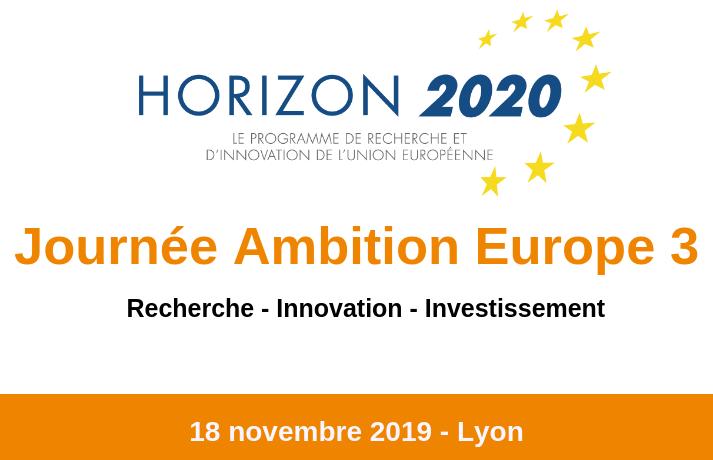 Journée Ambition Europe 3