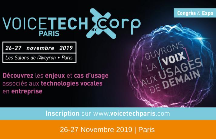 Voice Tech Paris 2019