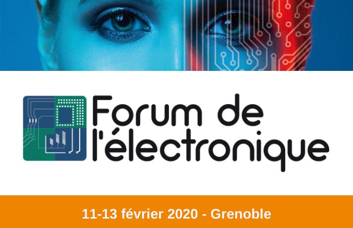 Forum de l'Electronique Grenoble 2020