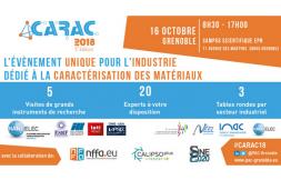 CARAC 2018 : Accelerate your R&D