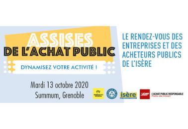 Rencontrez les acheteurs publics de l'Isère en rendez-vous B2B
