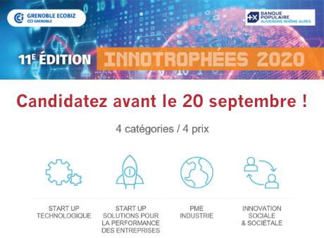 Candidatez aux Innotrophées 2020