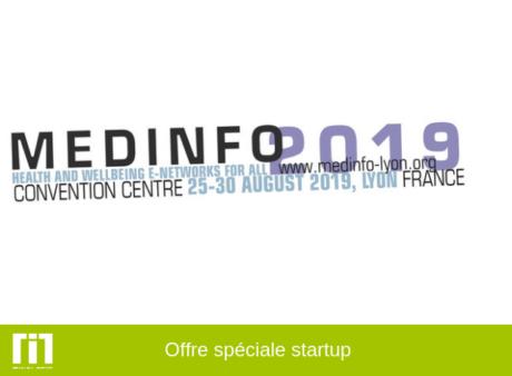 MedInfo 2019 : bénéficiez d'une offre spéciale startup