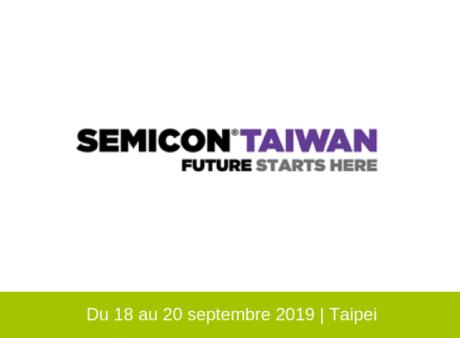 7 membres de Minalogic exposent sur Semicon Taïwan