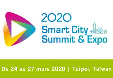 Offres spéciales sur le salon Smart City Expo Summit & Expo Taiwan