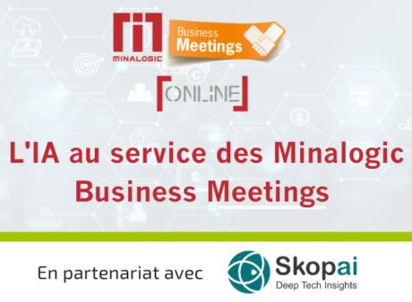 L'IA au service des Minalogic Business Meetings