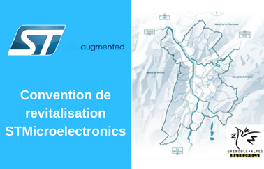 Convention de revitalisation STMicroelectronics
