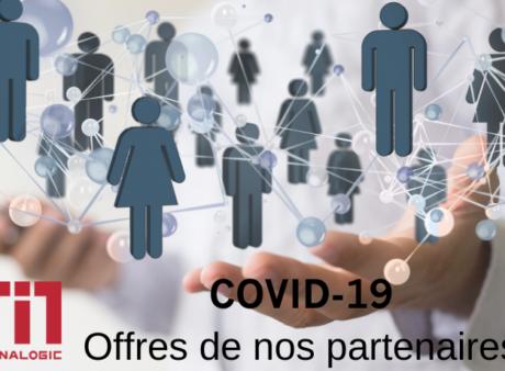 COVID-19, les offres de nos partenaires de l'écosystème