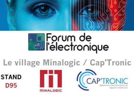 Forum de l'électronique : un village commun Minalogic / Cap'tronic
