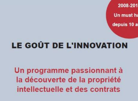 Goût de l'innovation : lancement de la saison 2018