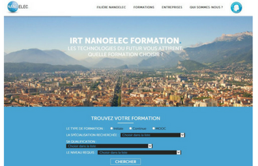 Grenoble Ecole de Management et Grenoble INP lancent un site dédié à la nanoelec