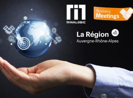 Minalogic Business Meetings 2019 : réservez votre journée du 28 mai