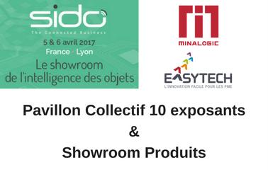 SIDO 2017 : Pavillon collectif Minalogic-Easytech