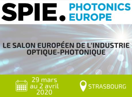 Exposez sur SPIE Photonics Europe