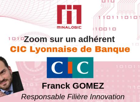 Portrait de Franck Gomez- CIC Lyonnaise de Banque