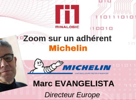 Portrait de Marc Evangelista - Michelin