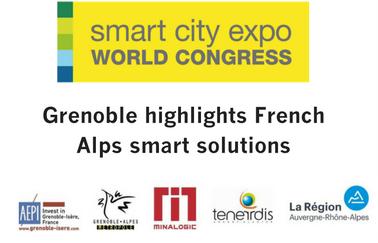 Pavillon isérois sur Smart city expo world congress