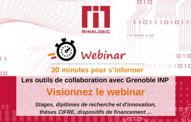 Comment collaborer avec Grenoble INP, établissement d'enseignement supérieur et de recherche clé de l'écosystème Minalogic