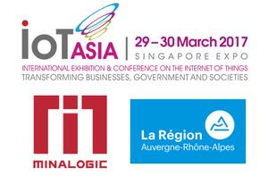 Pavillon Minalogic sur IOT Asia 2017