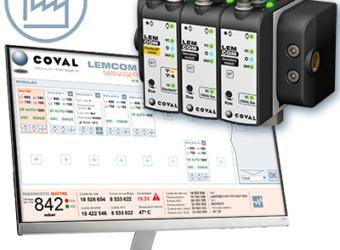 COVAL : LEMCOM Manager – La gestion du vide facilitée !