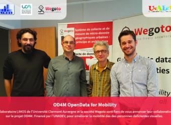 WEGOTO : Lancement du projet OD4M OpenData for Mobility !