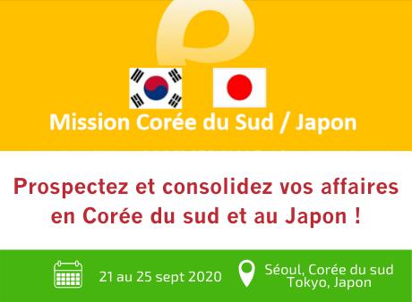 Mission Corée du Sud / Japon