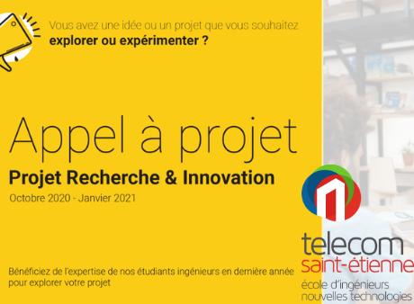 Projets Recherche & Innovation de Telecom Saint-Etienne