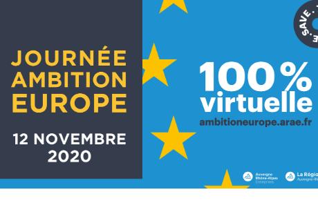 Ambition Europe 4 : une journée 100% virtuelle sur les financements européens