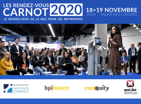 """Candidatez aux Pitchs """"Start-up et PME Innovantes"""" des RDV Carnot"""