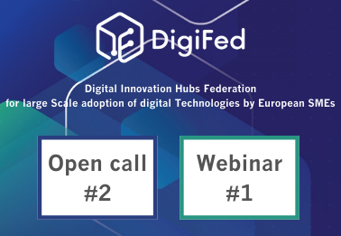 DigiFed Webinar Series: learn about the open call #2