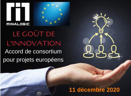 Goût de l'innovation - Accords de consortium pour projets européens
