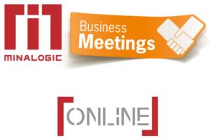 Logo Minalogic [Online] Business Meetings