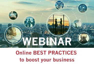 Webinar : online BEST PRACTICES to boost your business