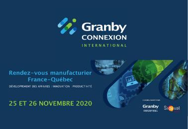 Granby CONNEXION International : rendez-vous manufacturier France-Québec