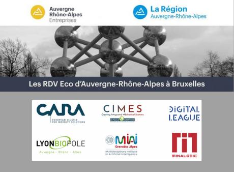 Les RDV ECO d'Auvergne-Rhône-Alpes à Bruxelles 2020