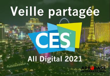 Webinar : optimisez votre participation au CES All Digital 2021 grâce à la veille partagée