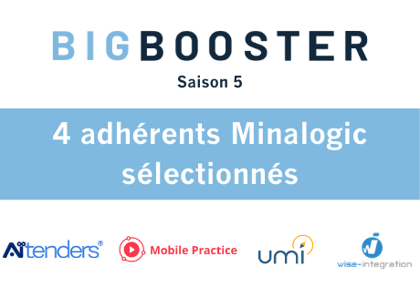 Big Booster#5 : 4 adhérents de Minalogic retenus