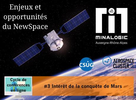 Intérêt de la conquête de Mars - Enjeux et opportunités du Newspace Conférence N°3 :
